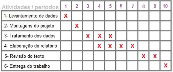 Cronograma de Estudos