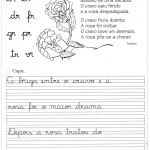 Atividade de caligrafia br cr dr fr gr pr tr vr