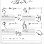 Atividade de caligrafia frases