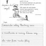 Atividade de caligrafia letra Z