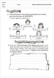 Atividades de Ensino para pensar
