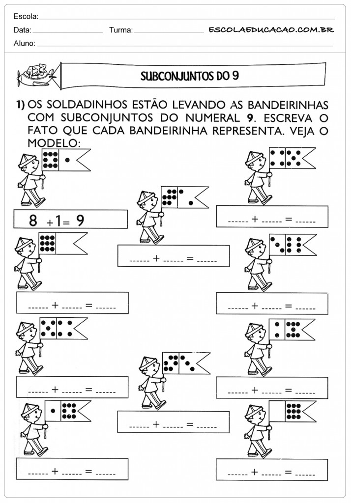 Atividades De Matematica Para Imprimir Escola Educacao