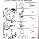 Atividades educativas - 1º ano - Brincando com a letra A