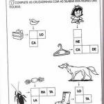 Atividades educativas - 1º ano - Cruzando a letra B
