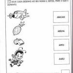 Atividades educativas - 1º ano - Fique de olho