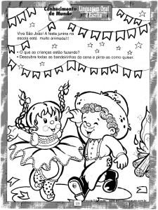Atividades festa Junina Cantar