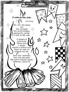 Atividades festa Junina Cantar - 3
