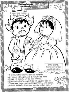 Atividades festa Junina Casamento