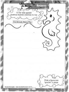 Atividades festa Junina Desenhar
