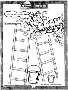 Atividades festa Escada