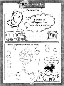 Atividades festa Junina Geometricas