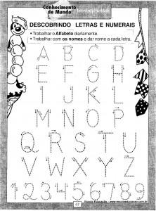 Atividades festa Junina Letras