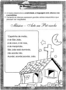 Atividades festa Junina Igreja
