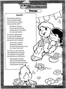 Atividades festa Junina Poema 3