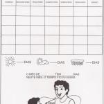 Calendário mês de Agosto