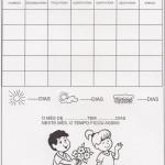 Calendário mês de Setembro