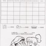 Calendário mês de Dezembro