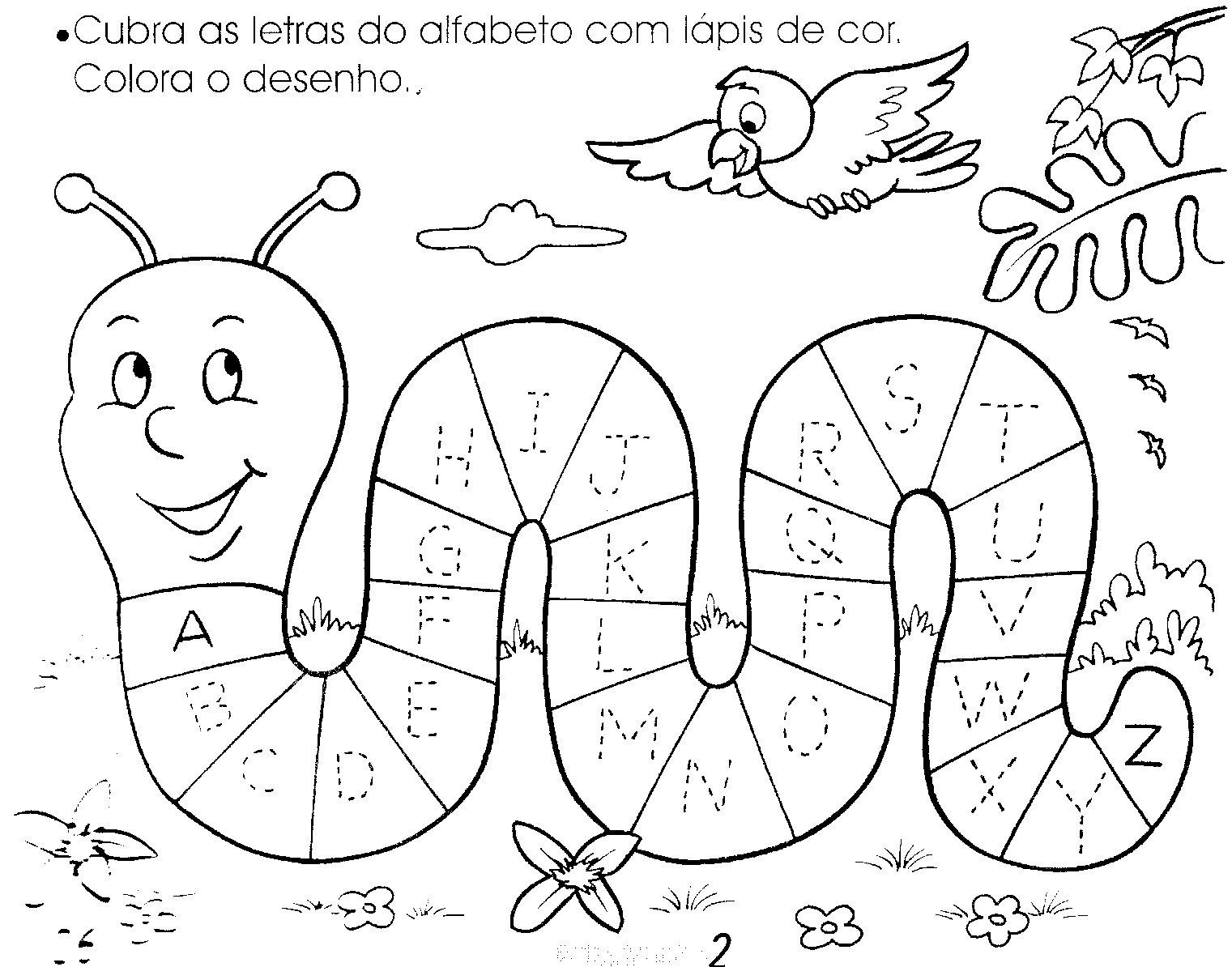 Atividades para Alfabetizar – Cubra as Letras