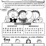 Aprendendo a Gramática - Ordem alfabética