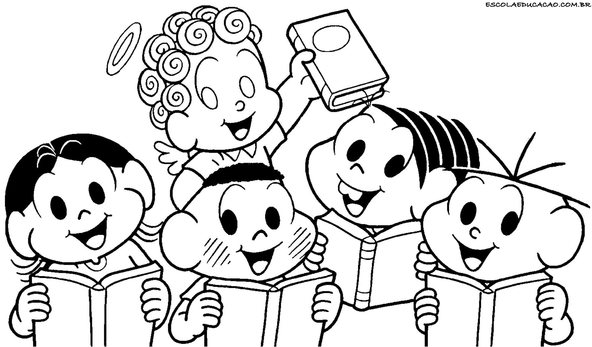 Desenhos Para Colorir E Imprimir Escola Educacao