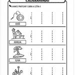 Imprimir atividade de caligrafia letra I
