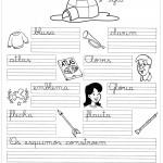 Imprimir atividades de caligrafia frases