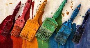 Tintas e Pincéis para colorir