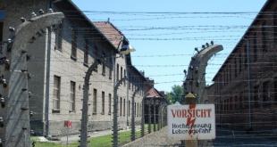 Campo de Concentração de Auschwitz na Polônia, um dos maiores símbolos do Holocausto