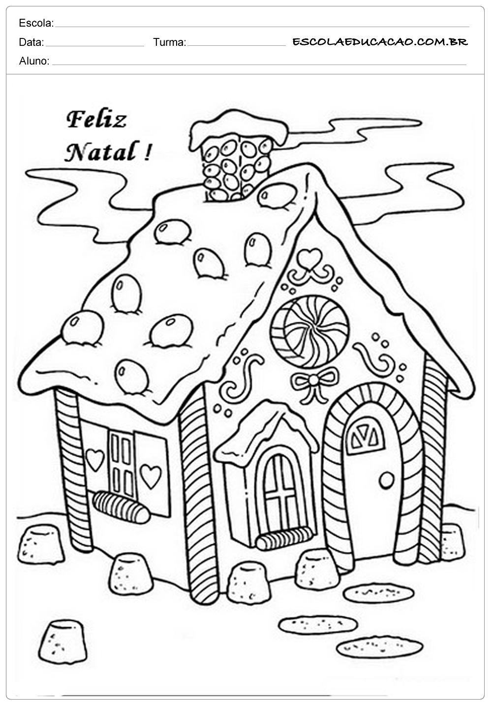Atividades de Natal – Colorindo
