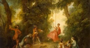 O Balanço (década de 1730), de Nicolas Lancret.