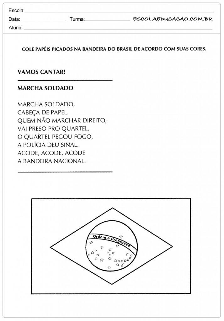 Atividade Independência do Brasil - Colorindo