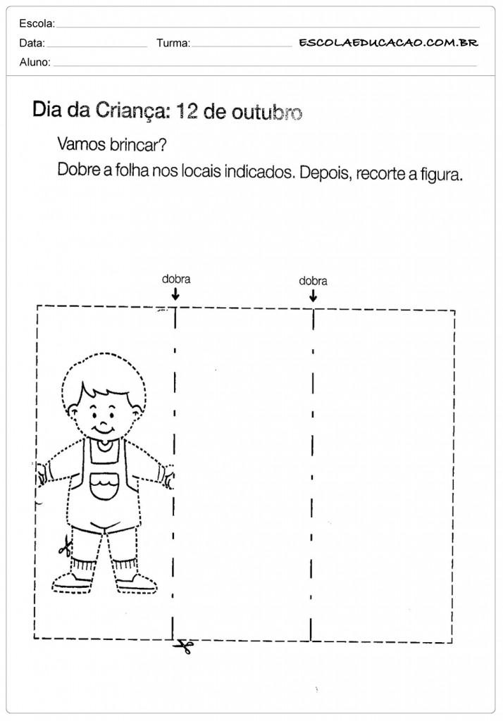Atividades Dia das Crianças - Vamos Brincar