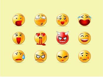 emoticons linguagem não verbal