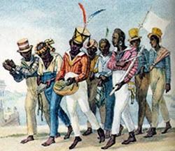 momento festivo dos negros