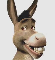 O burro é um animal híbrido resultante de duas espécies diferentes