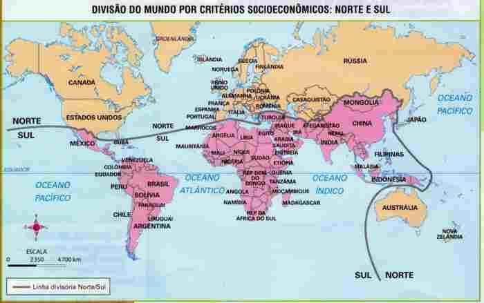 Regionalização Norte-Sul