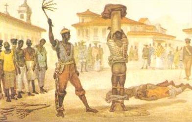 violência no trato com o negro