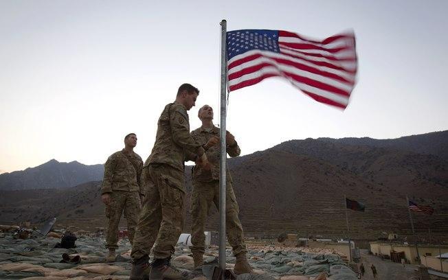 A intervenção militar norte-americana no Afeganistão
