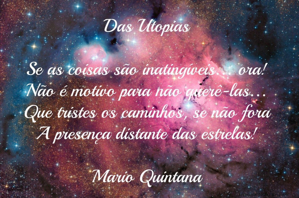 Das utopias, Mario Quintana