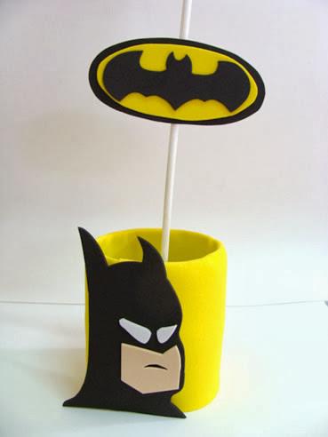 Decoração de festa tema Batman