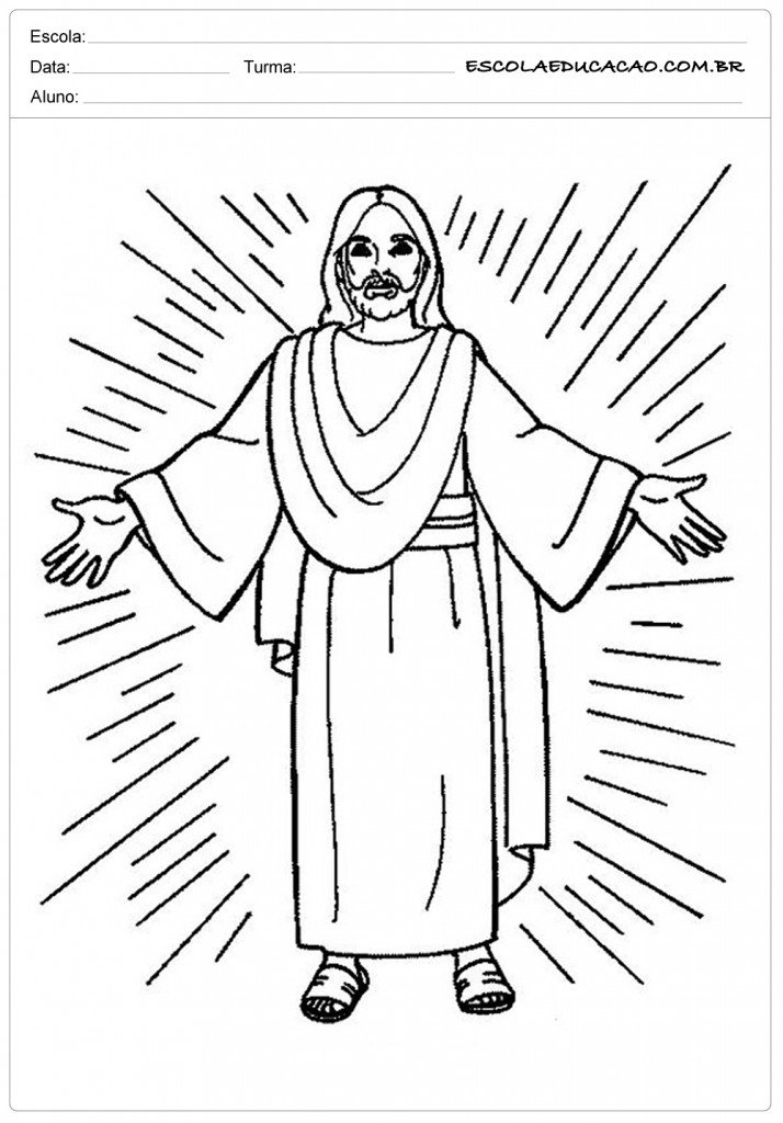 savior coloring pages - photo#23