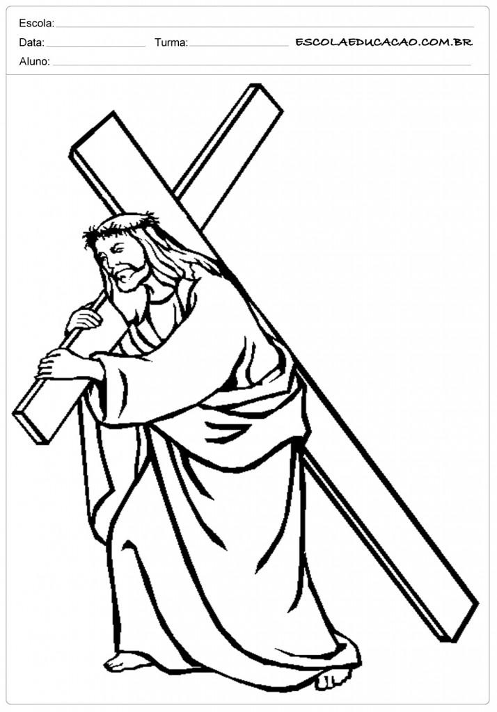 Favoritos Desenhos Bíblicos para Colorir - Para Imprimir e Pintar DB09