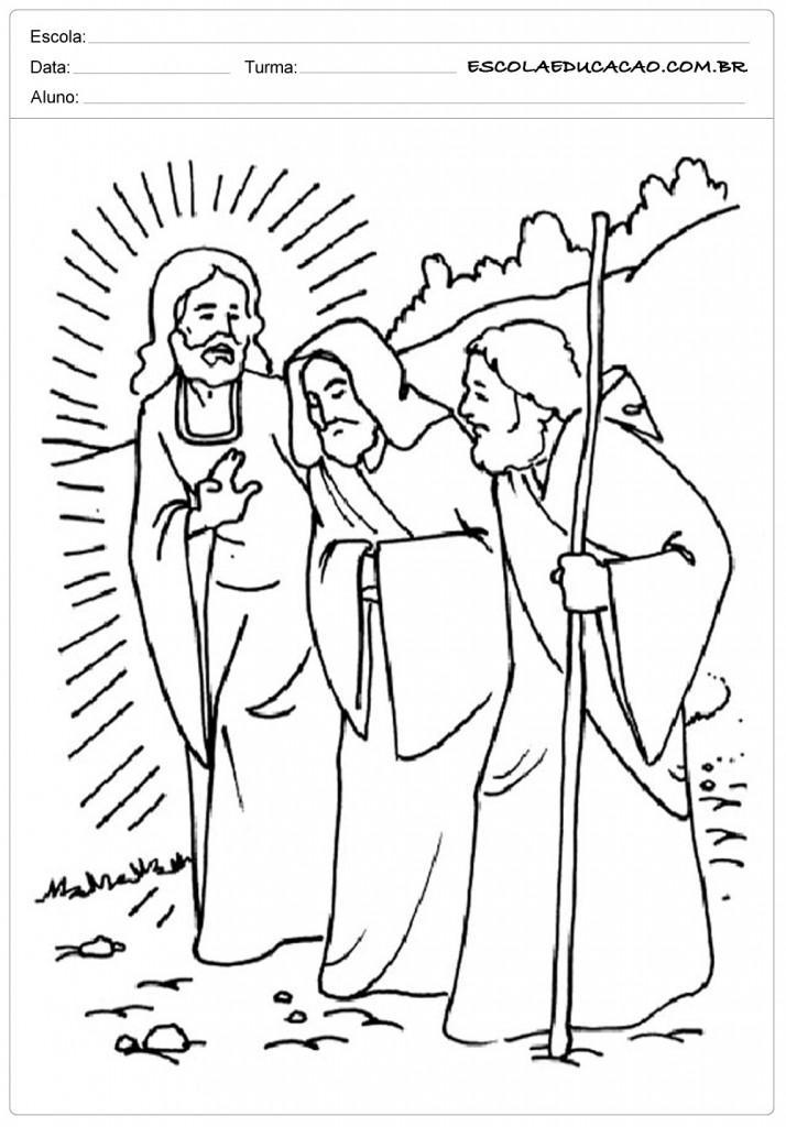 Desenhos Biblicos Para Colorir Para Imprimir E Pintar