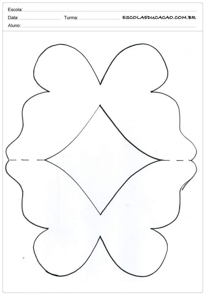 moldes de borboletas