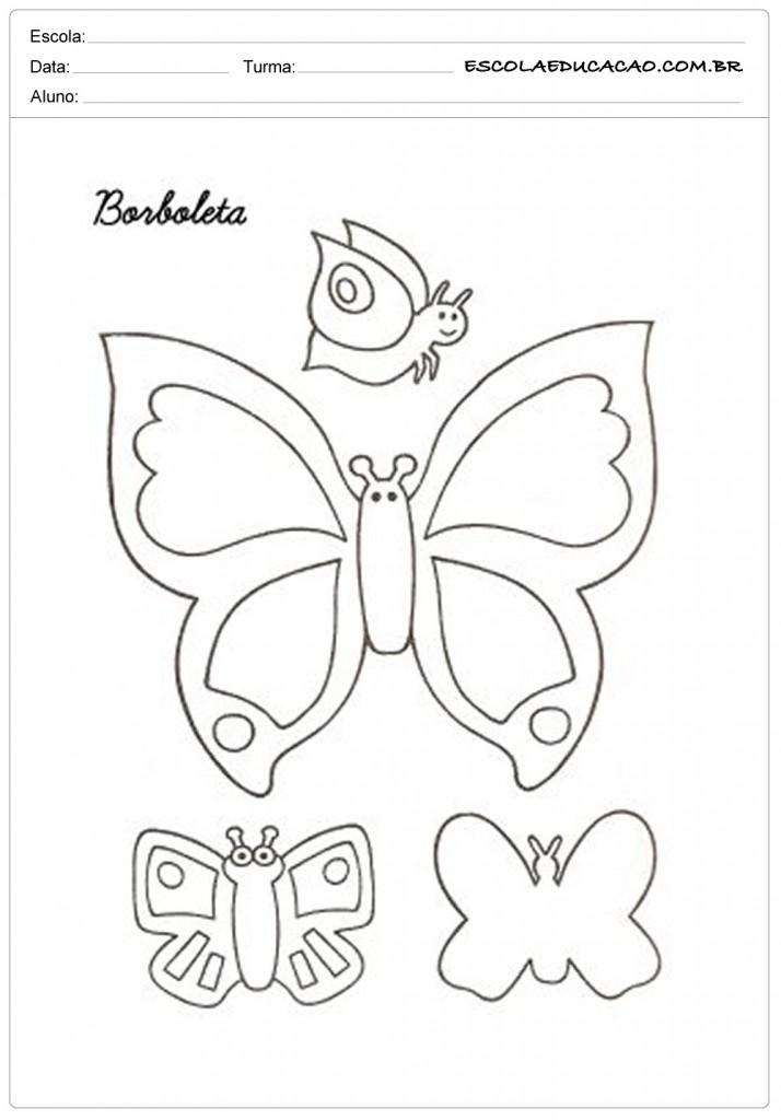 Molde de Borboleta - 16