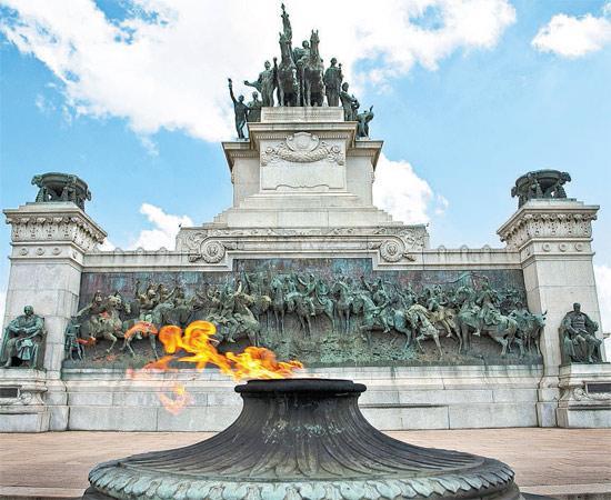 Monumento do Ipiranga em São Paulo