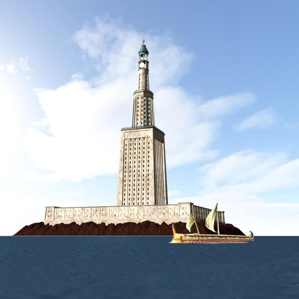 O Farol de Alexandria