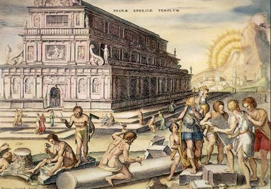 O Templo de Ártemis
