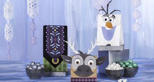 Saquinhos de lembrancinha do Frozen