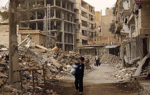 Destruição na Siria